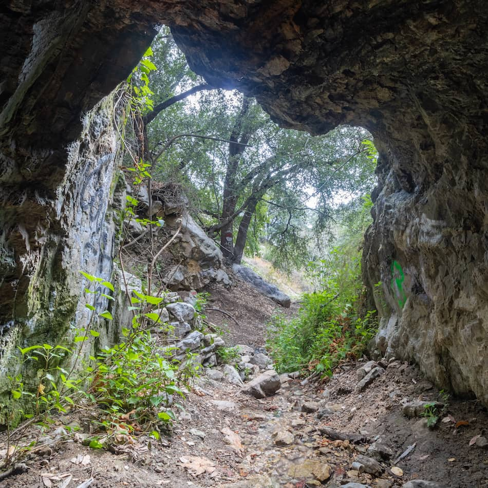 Las Floes Canyon Mines